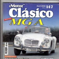 Coches: MOTOR CLASICO Nº 147 MGA. Lote 214868988