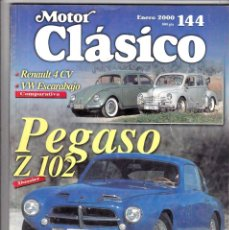 Coches: MOTOR CLASICO Nº 144 PEGASO Z 102. Lote 214869143