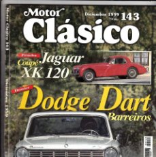 Coches: MOTOR CLASICO Nº 143 DODGE DART BARREIROS. Lote 214869225