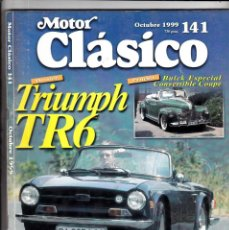 Coches: MOTOR CLASICO Nº 141 TRIUMPS TR 6. Lote 214869588
