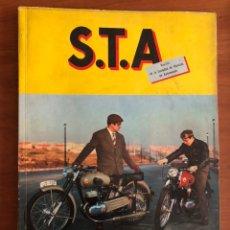 Coches: REVISTA STA NUM. 33, 1957 SOCIEDAD DE TÉCNICOS DE AUTOMOCIÓN. Lote 216888973