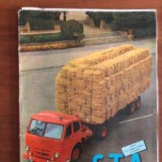 Coches: REVISTA STA NUM. 41, 1959 SOCIEDAD DE TÉCNICOS DE AUTOMOCIÓN. Lote 216889101