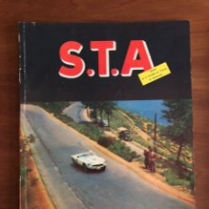 Coches: REVISTA STA NUM. 22, 1954 SOCIEDAD DE TÉCNICOS DE AUTOMOCIÓN. Lote 216889165