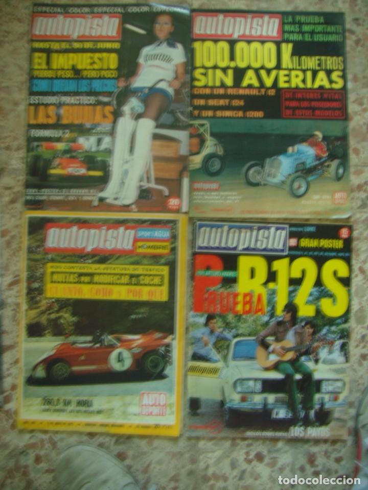 Coches: LOTE 33 REVISTAS AUTOPISTA DE 69 - DE LOS 70 Y 80 (PORTADA LOS PAYOS) - Foto 2 - 218487530