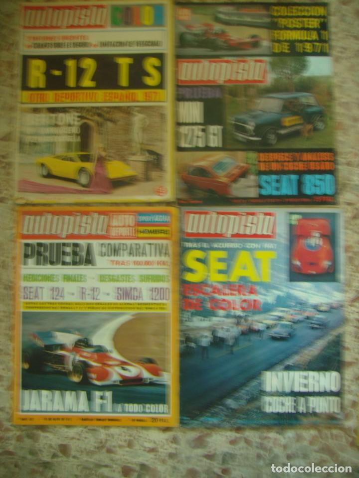 Coches: LOTE 33 REVISTAS AUTOPISTA DE 69 - DE LOS 70 Y 80 (PORTADA LOS PAYOS) - Foto 3 - 218487530
