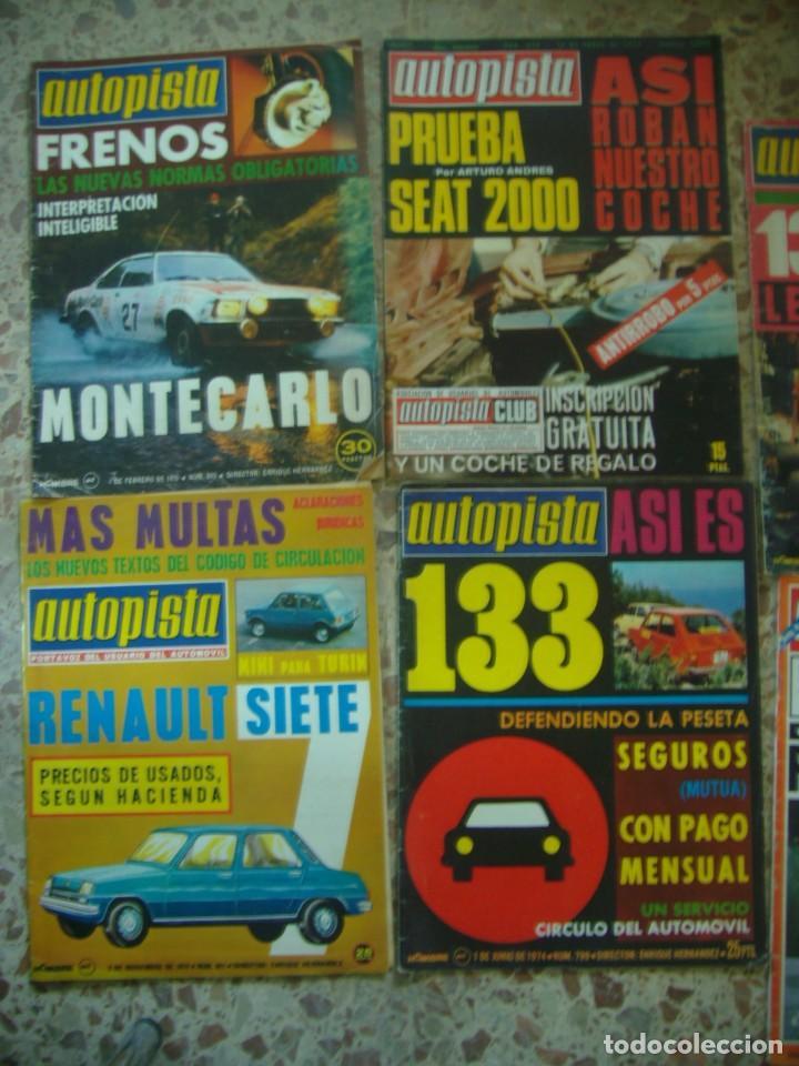 Coches: LOTE 33 REVISTAS AUTOPISTA DE 69 - DE LOS 70 Y 80 (PORTADA LOS PAYOS) - Foto 4 - 218487530