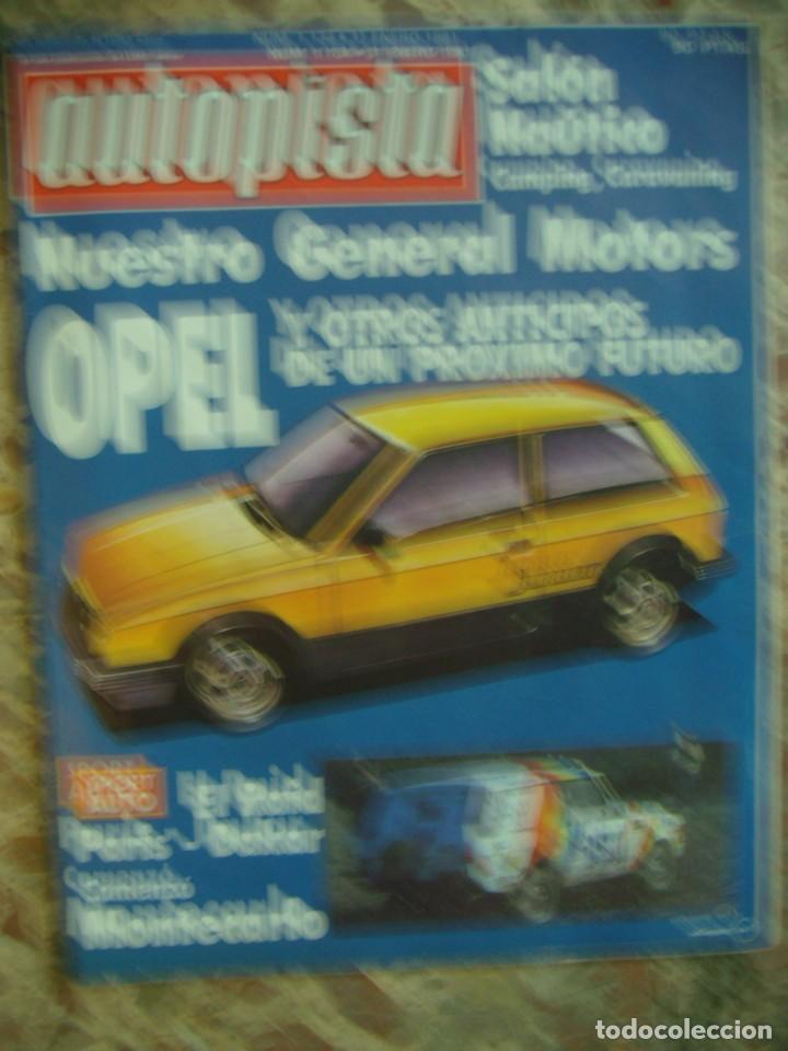 Coches: LOTE 33 REVISTAS AUTOPISTA DE 69 - DE LOS 70 Y 80 (PORTADA LOS PAYOS) - Foto 5 - 218487530