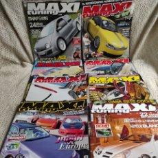 Carros: MAXI TUNING , LOTE DE 8 EJEMPLARES , REVISTAS DE TUNEAR EL COCHE ( MAXITUNING ). Lote 31117351