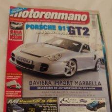 Coches: REVISTA MOTOR EN MANO NÚMERO 67/2002. Lote 218838648