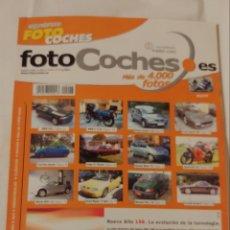 Coches: ANTIGUA REVISTA SEGUNDAMANO FOTO COCHES. Lote 218840628