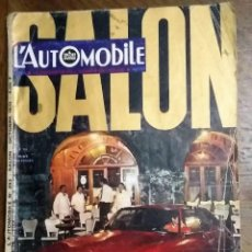 Coches: L'AUTOMOBILE. N.º 293. SALON. OCTOBRE 1970. IDIOMA FRANCÉS. 195 PÁG.. Lote 219024821