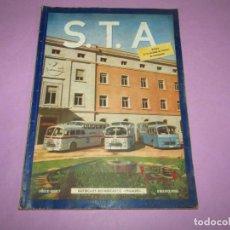 Auto: ANTIGUA REVISTA LIBRO S.T.A. SOCIEDAD DE TÉCNICOS DE AUTOMOCIÓN Nº 7 DEL AÑO 1951 PEGASO MONOCASCO. Lote 219172563