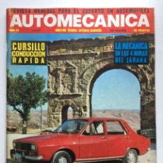 Coches: AUTOMECANICA Nº 16 RENAULT 12. Lote 220641235