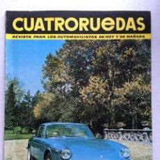 Coches: CUATRORUEDAS Nº34 (OCTUBRE 1966) FERRARI, CITROEN DS, FORD TAUNUS, TOYOTA LAND CRUISER. Lote 220665903
