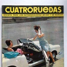 Coches: CUATRORUEDAS Nº6 (JUNIO 1964) FIAT 850, SIMCA 1000. Lote 220667976