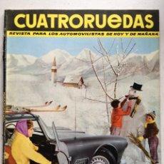 Coches: CUATRORUEDAS Nº12 (DICIEMBRE 1964) MUSTANG. Lote 220670343