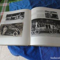Coches: ENORME Y PRECIOSO LIBRO HISTORIA AUTOMOVILISMO BLUME 1965 NO HAY SOBRECUBIERTA MUY ILUSTRADO. Lote 221345288