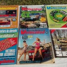 Coches: LOTE DE REVISTAS DE 1974.. Lote 221450512