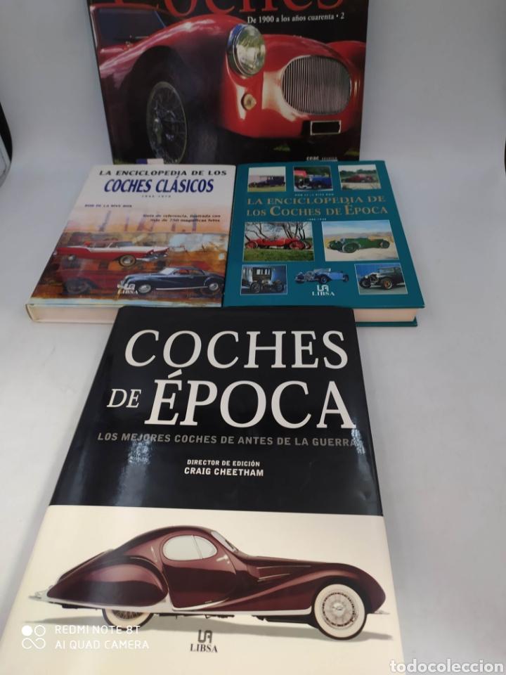 LOTE LIBROS COCHES DE ÉPOCA Y CLÁSICOS (Coches y Motocicletas Antiguas y Clásicas - Revistas de Coches)