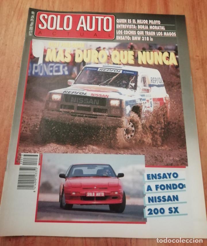 SOLO AUTO ACTUAL - 73 (Coches y Motocicletas Antiguas y Clásicas - Revistas de Coches)
