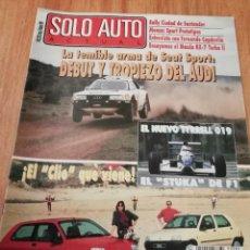 Coches: SOLO AUTO ACTUAL - 82. Lote 221733348