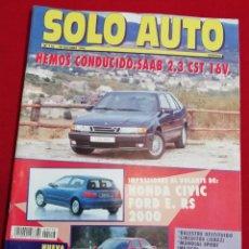 Coches: SOLO AUTO ACTUAL - 116. Lote 221835123