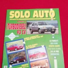 Coches: SOLO AUTO ACTUAL - 110. Lote 221838618