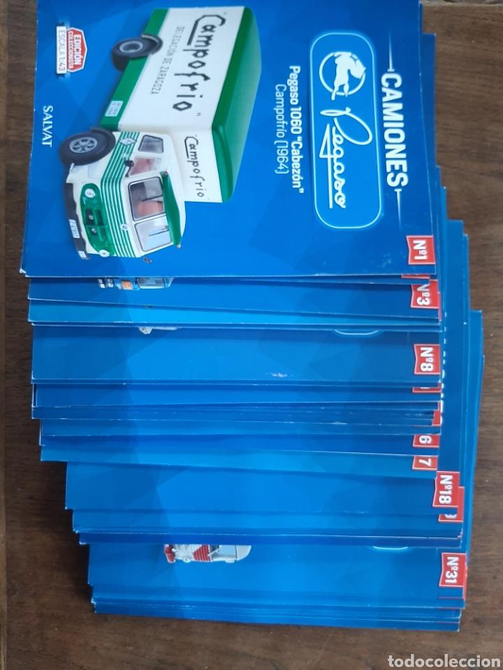 Coches: Colección de 39 fascículos camion pegaso salvat - Foto 2 - 221875638