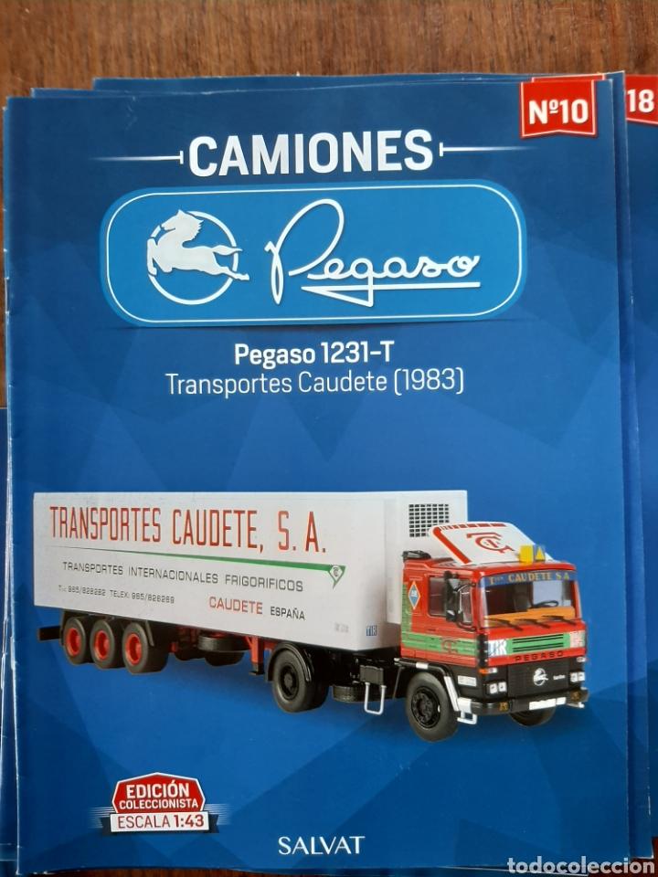Coches: Colección de 39 fascículos camion pegaso salvat - Foto 3 - 221875638