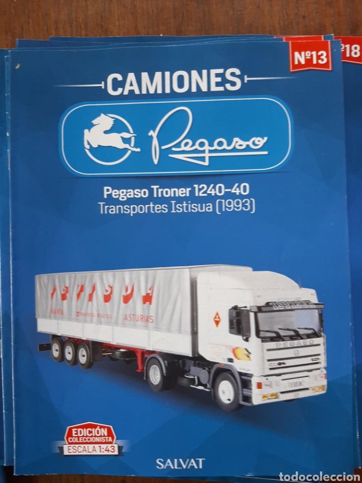 Coches: Colección de 39 fascículos camion pegaso salvat - Foto 4 - 221875638
