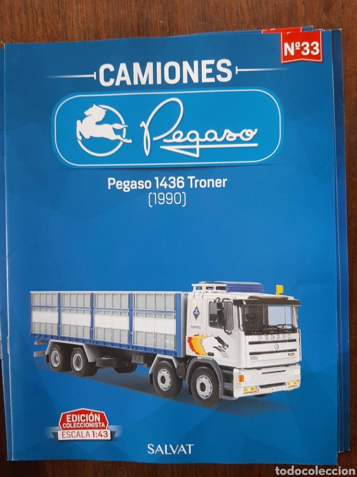 Coches: Colección de 39 fascículos camion pegaso salvat - Foto 6 - 221875638