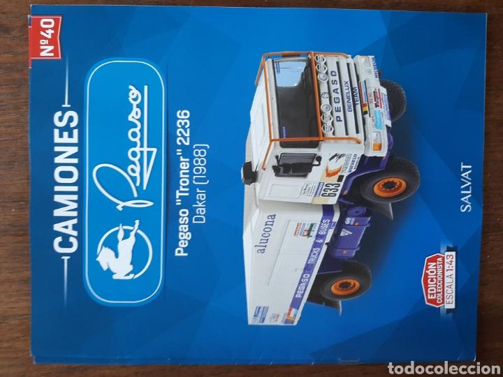 Coches: Colección de 39 fascículos camion pegaso salvat - Foto 7 - 221875638