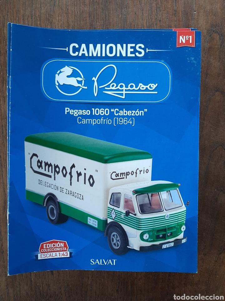 COLECCIÓN DE 39 FASCÍCULOS CAMION PEGASO SALVAT (Coches y Motocicletas Antiguas y Clásicas - Revistas de Coches)