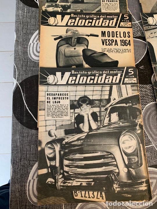 Coches: 11 REVISTAS GRAFICAS DEL MOTOR VELOCIDAD AÑO 1963 - Foto 2 - 221925848