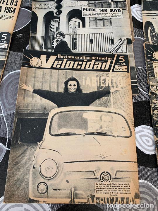 Coches: 11 REVISTAS GRAFICAS DEL MOTOR VELOCIDAD AÑO 1963 - Foto 4 - 221925848