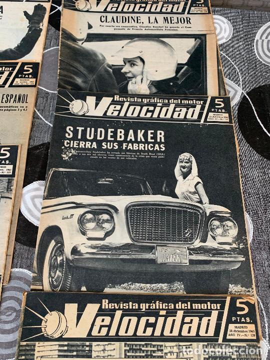 Coches: 11 REVISTAS GRAFICAS DEL MOTOR VELOCIDAD AÑO 1963 - Foto 5 - 221925848