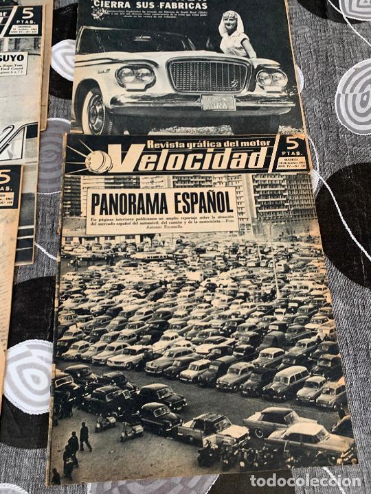 Coches: 11 REVISTAS GRAFICAS DEL MOTOR VELOCIDAD AÑO 1963 - Foto 6 - 221925848