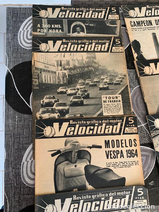Coches: 11 REVISTAS GRAFICAS DEL MOTOR VELOCIDAD AÑO 1963 - Foto 7 - 221925848