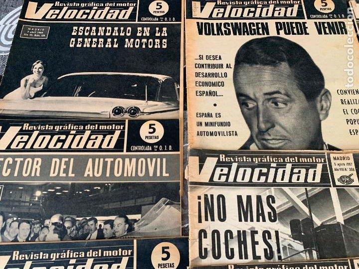 Coches: 14 REVISTAS GRAFICAS DEL MOTOR VELOCIDAD AÑO 1966 - Foto 2 - 221927316