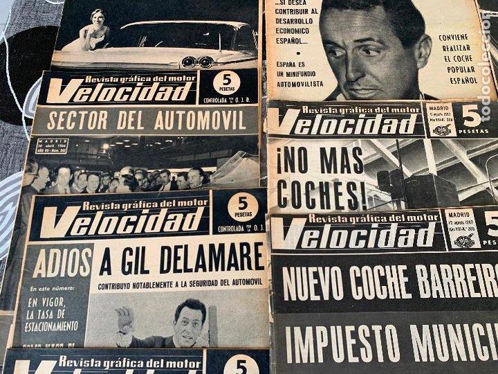 Coches: 14 REVISTAS GRAFICAS DEL MOTOR VELOCIDAD AÑO 1966 - Foto 3 - 221927316