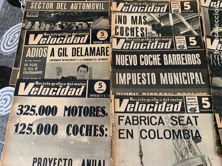Coches: 14 REVISTAS GRAFICAS DEL MOTOR VELOCIDAD AÑO 1966 - Foto 5 - 221927316