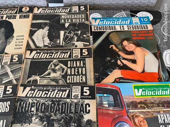 Coches: 14 REVISTAS GRAFICAS DEL MOTOR VELOCIDAD AÑO 1966 - Foto 6 - 221927316