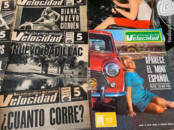 Coches: 14 REVISTAS GRAFICAS DEL MOTOR VELOCIDAD AÑO 1966 - Foto 7 - 221927316