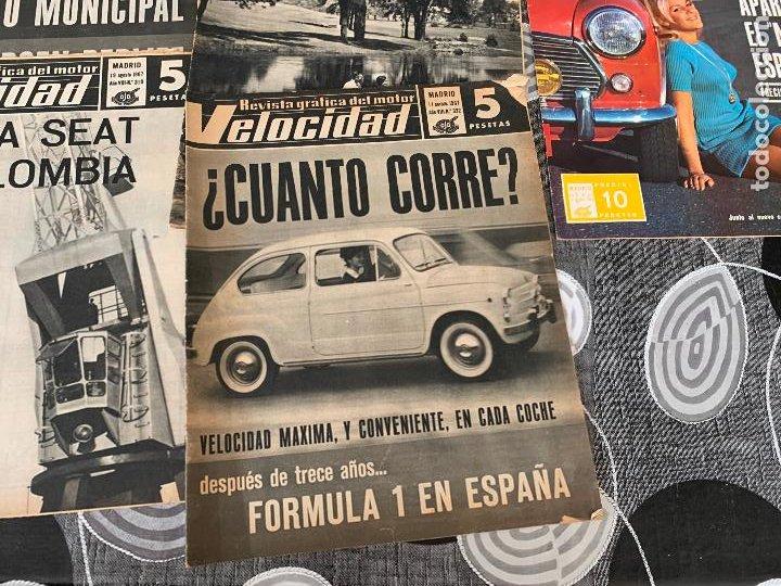 Coches: 14 REVISTAS GRAFICAS DEL MOTOR VELOCIDAD AÑO 1966 - Foto 8 - 221927316