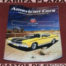 Coches: FASCICULO N 19 BUICK GSX 1970 DE LA COLECCION AMERICAN CARS DE ALTAYA. Lote 221981676