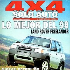 Coches: SOLO AUTO 4X4 Nº 168 NISSAN PATROL GR TOYOTA LAND CRUISER 90 TD JEEP GRAND CHEROKEE V8 LX. Lote 222368886