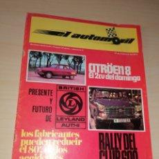 Coches: REVISTA EL AUTOMÓVIL RACING - NÚMERO 2 - FEBRERO 1971. Lote 222554332