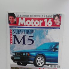 Coches: MOTOR 16- N 455 - JULIO 1992 - BMW M5 - AUDI COUPE 2.3 / BMW 320I COUPE - SAAB 9000 CS. Lote 224620486