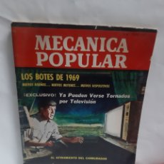 Coches: ANTIGUA REVISTA MECÁNICA POPULAR AÑO 1969. Lote 228021570