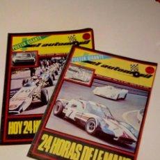 Carros: EL AUTOMOVIL RACING. - NOS. 18 Y 19 (1971). Lote 228042290